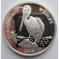 Монголия. 500 тугриков 1996 Птица. Серебро (51)