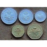 Гаити Набор монет 1995 - 2011