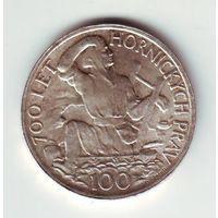 Чехословакия. 100 крон 1949 г. - состояние !