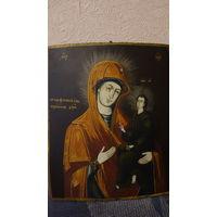 Икона матери божьей Тихвенской