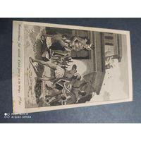 Старинная гравюра. 19 в. Франция