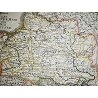 Карта Речи Посполитой, ВКЛ 1716г. Обмен на монеты