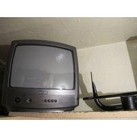 Телевизор PHILIPS 14PT1342/58 + кронштейн для настенной установки