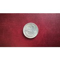 Польша 20 грошей, 1973Г.