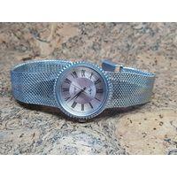 Часы Луч,редкие с браслетом,механизм позолота.Старт с рубля.