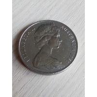 Австралия 20 центов 1981г.