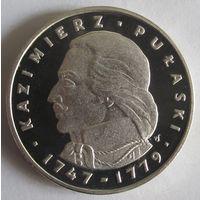 Польша, 100 злотых, 1976, серебро, пруф