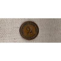 Германия 2 пфеннига 1912 A (Ab)