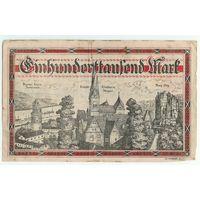 Германия, 100000 марок 1923 год.