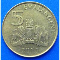 6578:  5 эмалангени 2015 Свазиленд