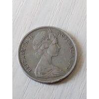 Австралия 5 центов 1970г.