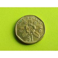 Сингапур. 1 доллар 1989.