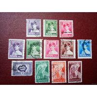 Лот марок Румынии ( с 1908 г. до начала WW2 ).