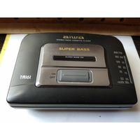 """AIWA""STEREO RADIO CASSETTE PLAYER SUPER BASS."