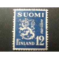 Финляндия 1947 стандарт, герб