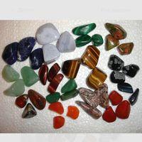 Камни натуральные Минералы Голубой агат (цена за один)