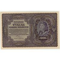 Польша,1000 марок польских 1919 год. UNC-