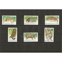 Никарагуа 1990 Фауна 6 марок из серии