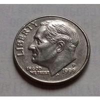 10 центов (дайм) США 1999 P