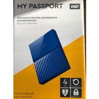 Внешний накопитель WD My Passport 4TB