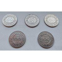 Суринам 100 центов, 1989 6-12-2*6