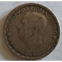 Швеция 1 крона 1944 серебро