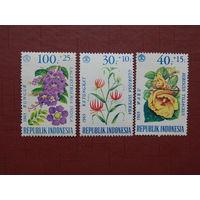 Индонезия 1965г. Флора