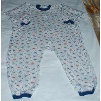 Пижама-комбинезон на рост 110