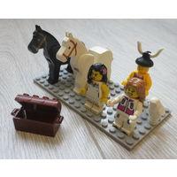 Лего. Brick и др...человечки, лошади и др...