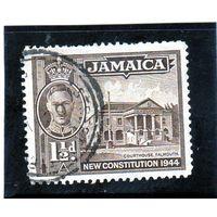 Ямайка.Ми-136. Здание суда, Фалмут. Серия: Принятие новой конституции.1944.