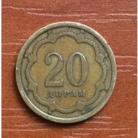 Таджикистан, 20 дирамов 2001