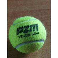 Мяч теннисный PZM Yellow Star.