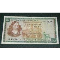 ЮАР, 10 Рандов 1967, 2 вариант
