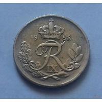 10 эре, Дания 1958 г.