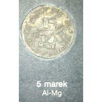 Распродажа! 5 марок 1943 г., гетто в Лодзи AL-Mg