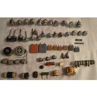 Радиодетали СССР.Подстроечные резисторы,конденсаторы,трансформатор и т.д с рубля много лотов.