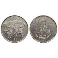 Либерия 1 доллар 1997 Битва за Британию UNC