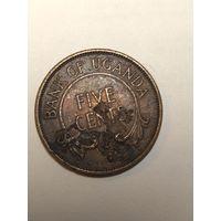 Монета Уганды