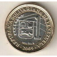 Венесуэла 1 боливар 2009