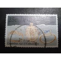 Бермуды 1992 колония Англии золотые украшения