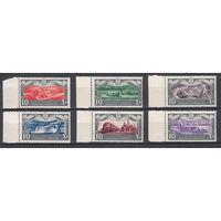 Транспорт. Египет. 1959. 6 марок (полная серия). Michel N 563-568 (7,5 е)