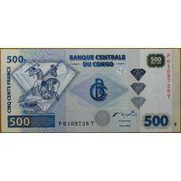Конго. 500 франков 2002 года, P96