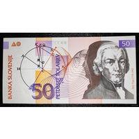 РАСПРОДАЖА С 1 РУБЛЯ!!! Словения 50 толаров 1992 год UNC