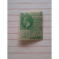 Британская Гвиана. 1913. Фрегат