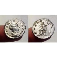 Римская Империя, Юлия Меза, 218-220 гг, денарий.