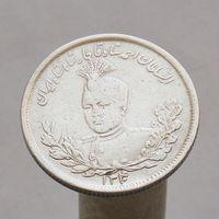 Иран 2000 динар 1921 Шах Султан Ахмад-шах (ошибка даты) СЕРЕБРО