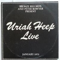2LP URIAH HEEP - Live. January 1973 (1993)