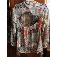 Блузка Нереально красивый блузон 48-50 с открытой спинкой