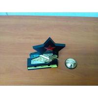 Танк сувенир Слава Советской Армии СССРи сувенир мир СССР 1961год.