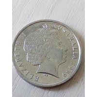 Австралия 10 центов 1999г.